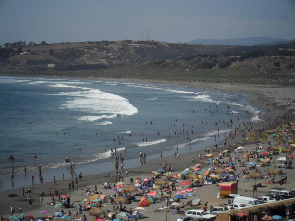 Concon Chile  city pictures gallery : Playa La Boca, ConCon | Playas en Chile